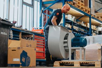 Ventilatoren Slingerland I Industrie I Onze aanpak