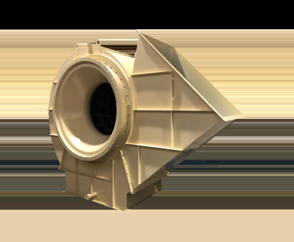 Centrifugaal ventilator t.b.v. drooginstallatie